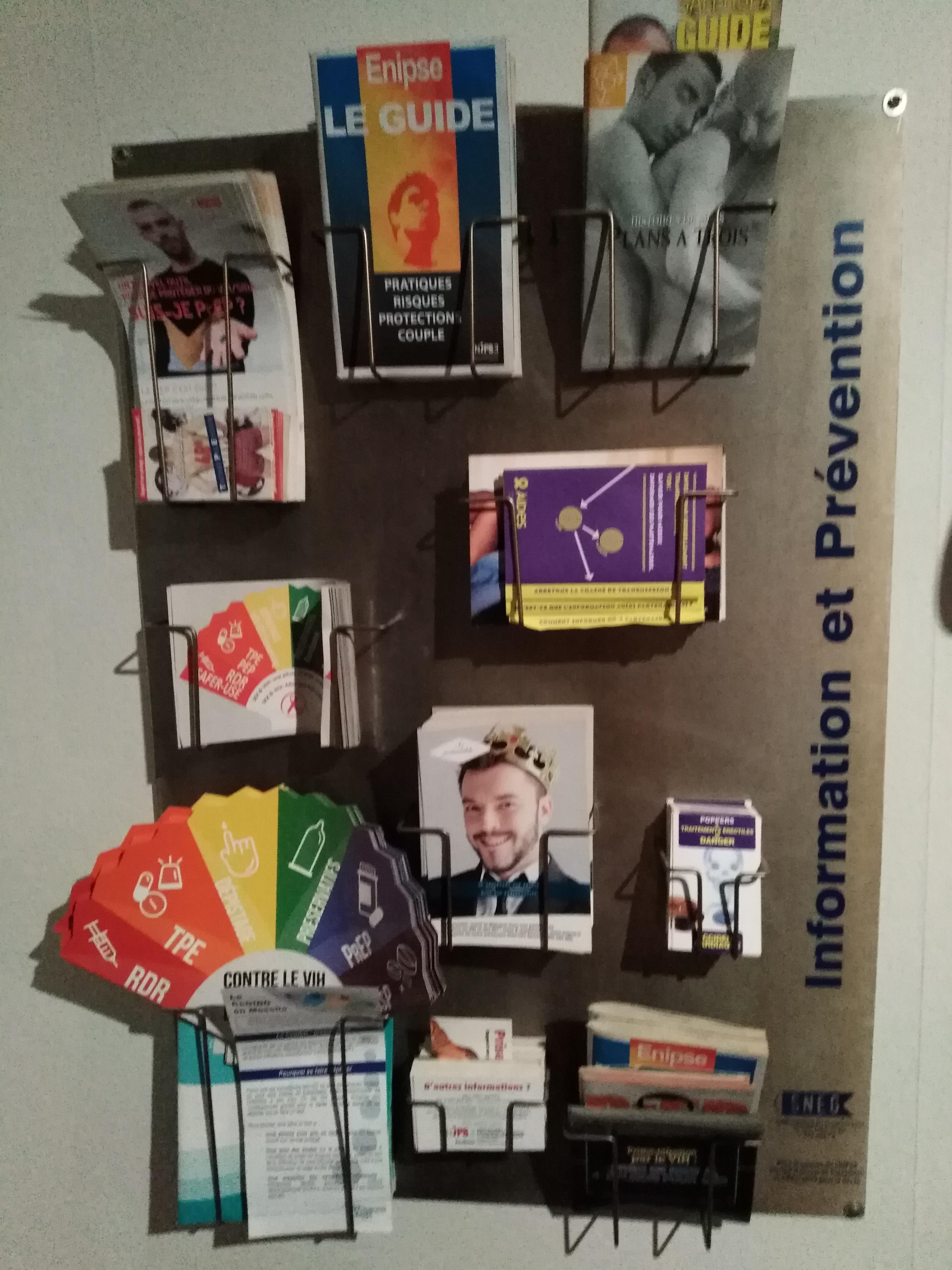 Information et prévention - Blue club sauna pour homme Metz proche gare de Metz